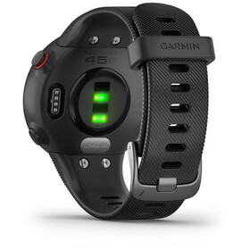 Garmin Forerunner 45S Running Watch with Silicone Band 18mm, black
